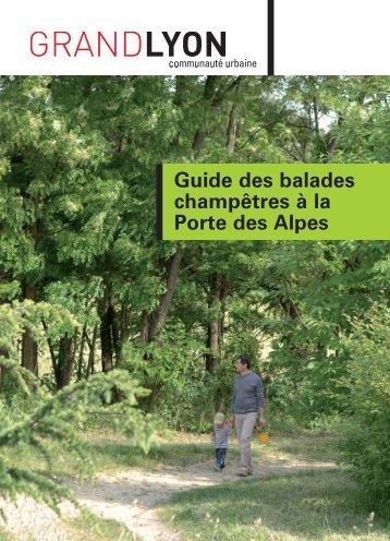 Guide des balades champêtres à la Porte des Alpes - Grand Lyon
