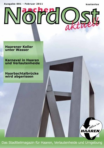 Nordost aktuell - Ausgabe 001 - Februar 2011 - Euregio-Aktuell.EU
