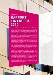 Rapport financier 2010 - pdf – 1266 Ko - Grand Lyon