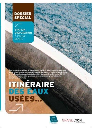 Itinéraire des eaux usées - Grand Lyon