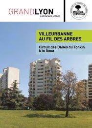 Villeurbanne au fil des arbres - Grand Lyon