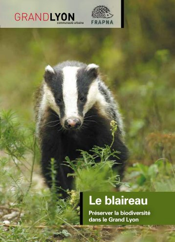 Le blaireau (novembre 2012) - pdf - 327 Ko - Grand Lyon