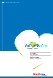 Agenda 21 du Val de Saône - Grand Lyon
