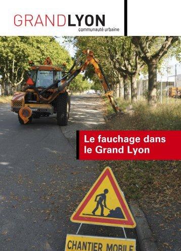 Le fauchage dans le Grand Lyon (juillet 2010) - pdf