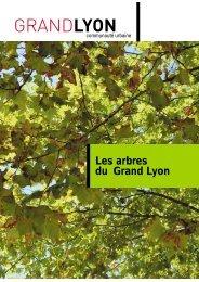 Les arbres du Grand Lyon (avril 2005) - pdf