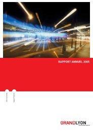 Rapport d'activités 2005 - pdf - Grand Lyon