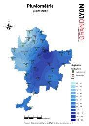 Bilan pluviométrique juillet 2012 - pdf - Grand Lyon