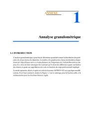 Méthode de l'analyse granulométrique des sols