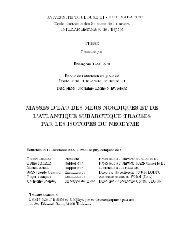 UNIVERSITE TOULOUSE III - PAUL SABATIER Ecole ... - LEGOS