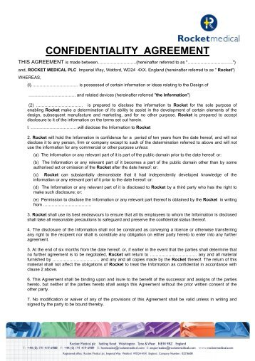 Confidentiality Agreement  Minnesota Power