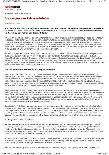 Spiegel Online - Strecke 46
