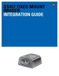 DS457 Fixed Mount Imager Integration Guide (p/n 72E ... - Vision ID