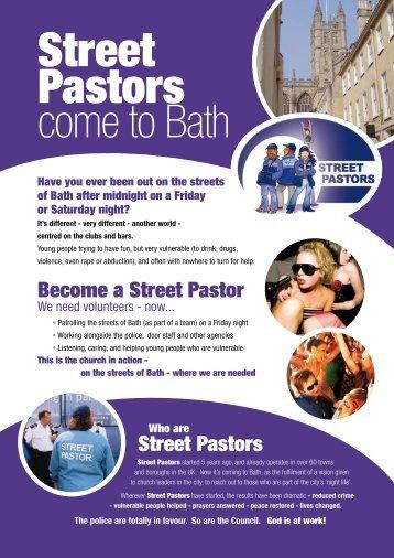 Street Pastors Become a Street Pastor