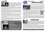 Newsletter Autumn 10 - Street Pastors