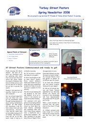 Torbay Street Pastors Spring Newsletter 2008