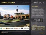 SHOPPES OF OLNEY JOIN - Streetsense