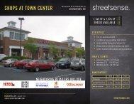 SHOPS AT TOWN CENTER - Streetsense