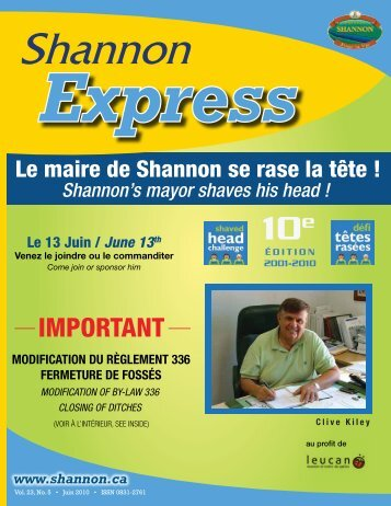 Juin 2010 - Shannon