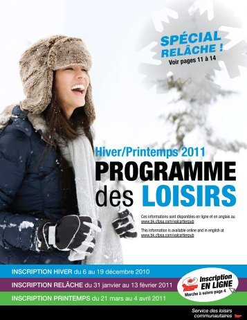 Programmation hiver 2011 - Shannon