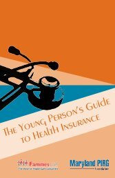 The Young Person's Guide to Health Insurance - University Health ...