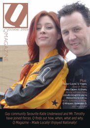 Gay community favourite Katie Underwood and Mr ... - Q Magazine