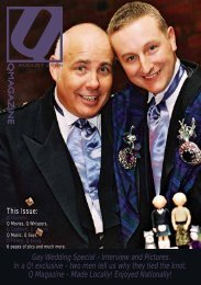 Gay Wedding Special - Interview and Pictures. In a Q ... - Q Magazine
