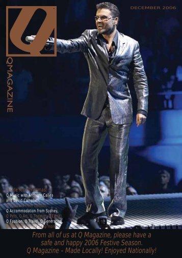 December 06 - Q Magazine