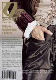 Melbourne – The Cultural Capital of Australia! - Q Magazine