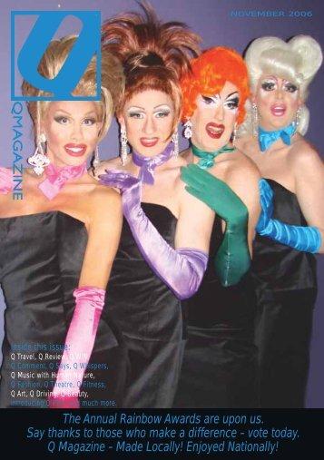 November 06 - Q Magazine