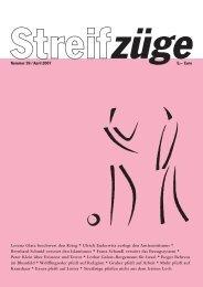 Lorenz Glatz beschwert den Krieg * Ulrich Enderwitz ... - Streifzüge