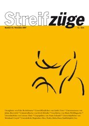 Unsagbares von Eske Bockelmann * Unveröffentlichtes ... - Streifzüge