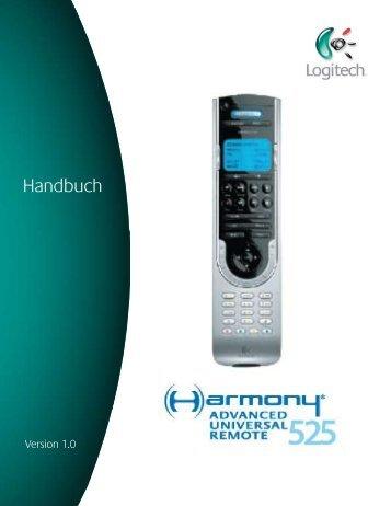 Hilfe zur Harmony 525  - Harmony Remote