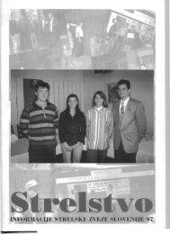 Revija Strelstvo 1997 - Strelska zveza Slovenije
