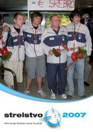 Revija Strelstvo 2007 - Strelska zveza Slovenije