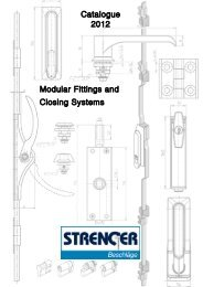 Modular Fittings and Closing Systems STRENGER - 2012 - Heinrich ...