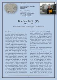 Brief aus Berlin (45) vom 9. November 2012 - Karin Strenz
