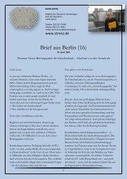 Brief aus Berlin (16) vom 10. Juni 2011: Neues ... - Karin Strenz