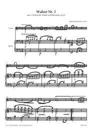 Walzer Nr. 3 - Stretta Music GmbH