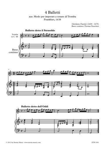 œ œ œ ˙ œ œ ˙ œ œ œ œ œ - Stretta Music GmbH