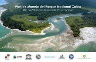 Plan de Manejo del Parque Nacional Coiba - Smithsonian Tropical ...