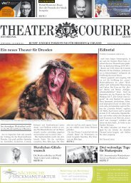 TheaterCourier - Ausgabe 10 - 30. August 2014