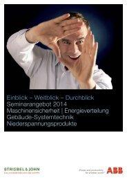 Seminarangebot 2014 - Striebel & John
