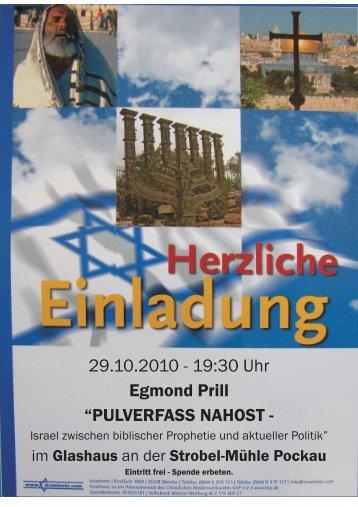 29.10.2010 - 19:30 Uhr Egmond Prill - Strobel-Mühle Pockautal