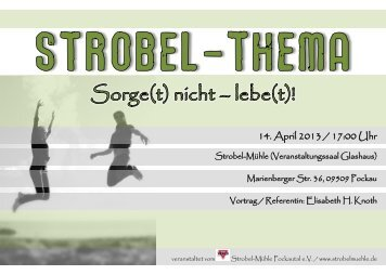 20130414_Stobel-Them.. - Strobel-Mühle Pockautal