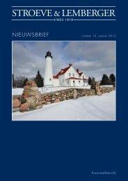 NIEUWSBRIEF STROEVE JANUARI 2013.indd - Stroeve & Lemberger