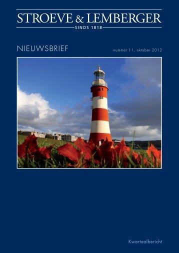 NIEUWSBRIEF STROEVE OKTOBER 2012.indd