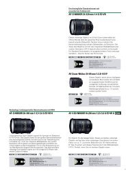 AF-S NIKKOR 28-300 mm 1:3,5-5,6 G ED VR II AF ... - Strohmedia.de