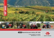 14385 MF 3600 VSF NEW Brochure - Stroje Slovakia