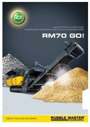 RM70 GO! - Stroje Slovakia