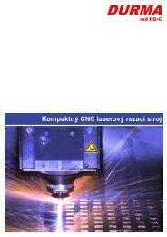 Kompaktný CNC laserový rezací stroj - Stroje Slovakia